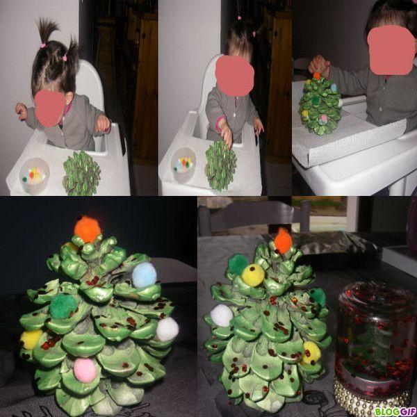 Bougeoir sapin pomme de pin centerblog - Que faire avec des pommes de pin ...